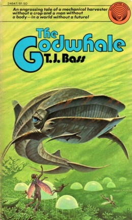 "Cover of ""The Godwhale"" by TJ Bass"